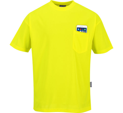 Portwest T-shirt Day Visible, 2 kleuren en mouwen