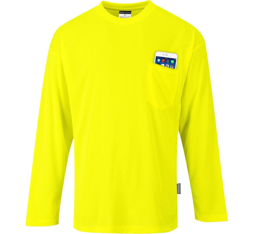 T-shirt Day Visible, 2 kleuren en mouwen