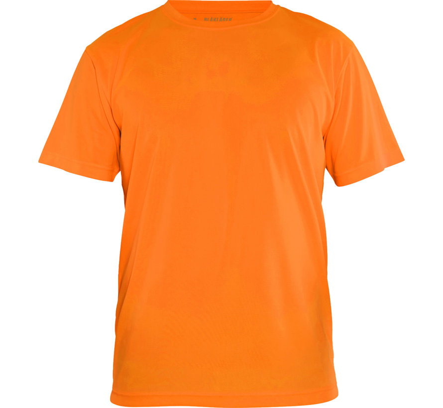 T-shirt Day Visible, fluor geel of oranje