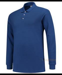 Poloshirt Slim Fit 210 Gram Lange Mouw