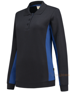 Polosweater Bicolor Dames