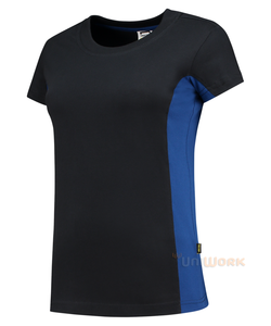 T-Shirt Bicolor Dames