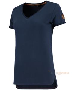 T-Shirt Premium V Hals Dames