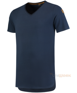 T-Shirt Premium V Hals Heren