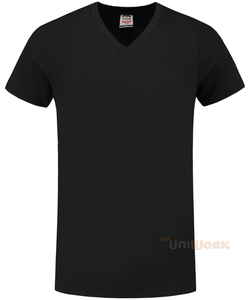 T-Shirt V Hals Slim Fit