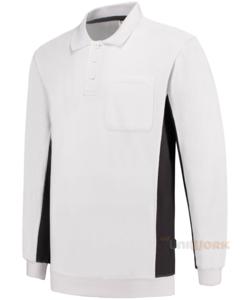 Polosweater Bicolor Borstzak