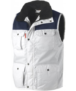 Bi-colour Bodywarmer Beaver
