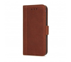 Decoded Decoded iPhone 5/5S/SE Wallet case Cinnamon