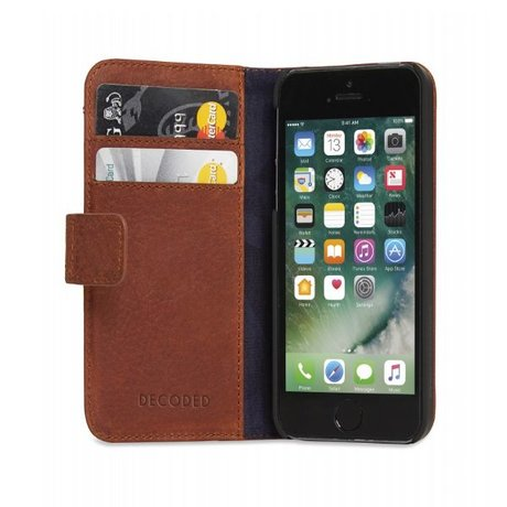 Decoded iPhone 5/5s/5se Wallet case Cinnamon