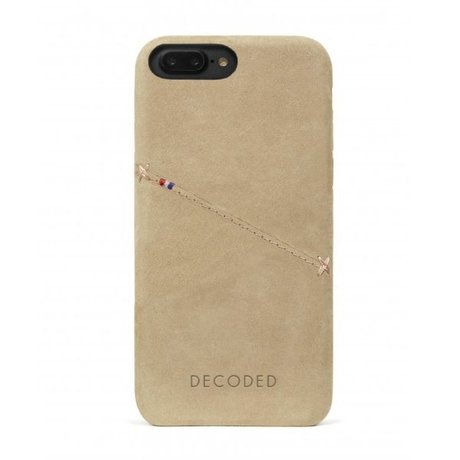 Decoded iPhone 7+/8+ Back cover case Sahara