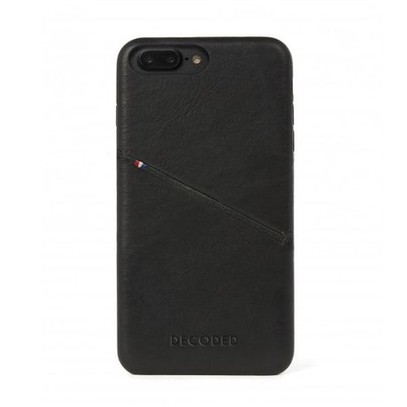 Decoded iPhone 7+/8+ Back cover case Zwart
