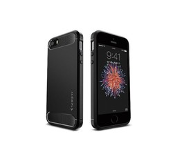 Spigen Spigen Rugged Armor iPhone 5/5s/SE Zwart