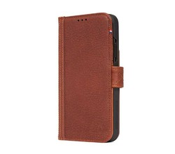 Decoded Decoded iPhone Xr Leather Slim Wallet Case
