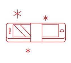 TPL Tempered glass iPad Air 1/2
