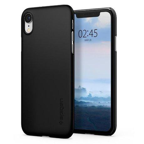 Spigen iPhone Xr Thin Fit Case Zwart
