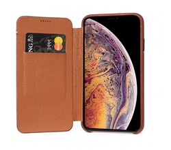 Decoded Decoded iPhone Xs Max Leather Slim Wallet Case