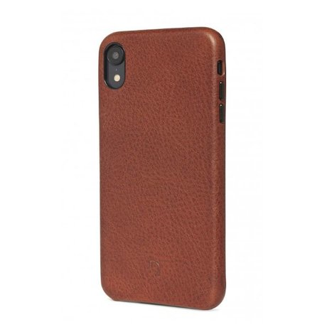 Decoded iPhone Xr Leather Back Cover