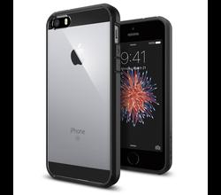 Spigen Spigen Ultra Hybrid iPhone 5/5s/SE Zwart