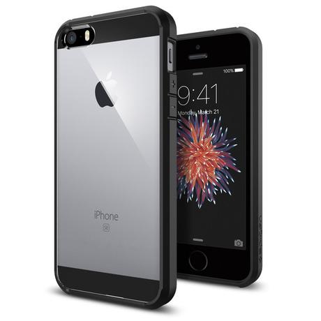 Spigen Ultra Hybrid iPhone 5/5s/SE Zwart