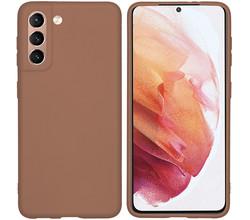 iMoshion iMoshion Color Backcover Samsung Galaxy S21 - Taupe (D)