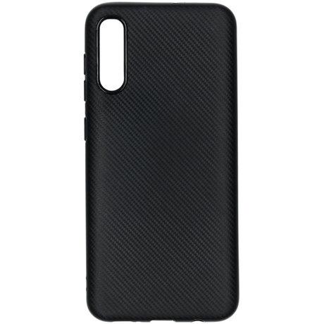 Carbon Softcase Backcover Samsung Galaxy A50 / A30s - Zwart (D)