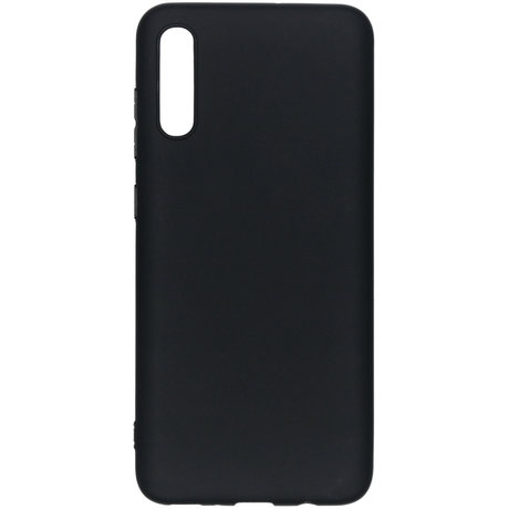 Color Backcover Samsung Galaxy A70 - Zwart (D)