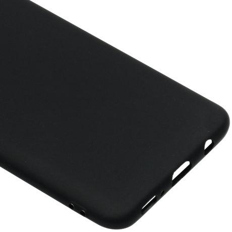 Color Backcover Samsung Galaxy A50 / A30s - Zwart (D)