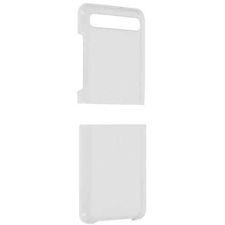 Clear PC Backcover Samsung Galaxy Z Flip - Transparant (D)