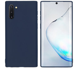 iMoshion iMoshion Color Backcover Samsung Galaxy Note 10 - Donkerblauw (D)