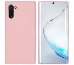 iMoshion iMoshion Color Backcover Samsung Galaxy Note 10 - Roze (D)