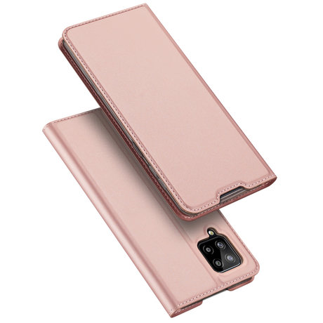 Dux Ducis Slim Softcase Booktype Samsung Galaxy A42 - Rosé Goud (D)