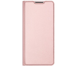 Dux Ducis Dux Ducis Slim Softcase Booktype Samsung Galaxy M51 - Rosé Goud (D)