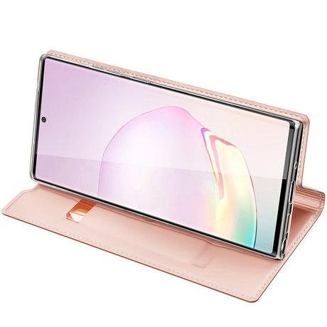 Dux Ducis Slim Softcase Booktype Galaxy Note 20 Ultra - Rosé Goud (D)