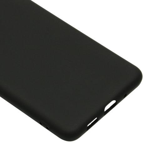 Color Backcover Samsung Galaxy S20 Plus - Zwart (D)