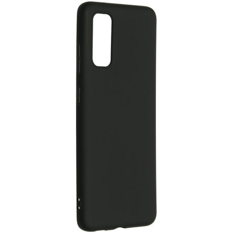 Color Backcover Samsung Galaxy S20 - Zwart (D)