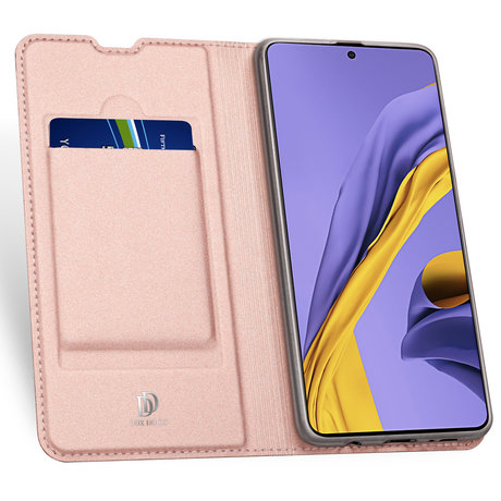 Dux Ducis Slim Softcase Booktype Samsung Galaxy A71 - Rosé Goud (D)
