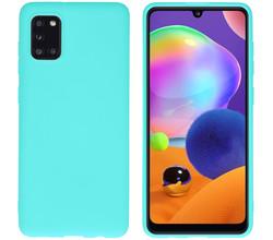 iMoshion iMoshion Color Backcover Samsung Galaxy A31 - Mintgroen (D)