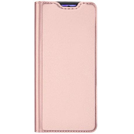 Dux Ducis Slim Softcase Booktype Samsung Galaxy S20 - Rosé Goud (D)
