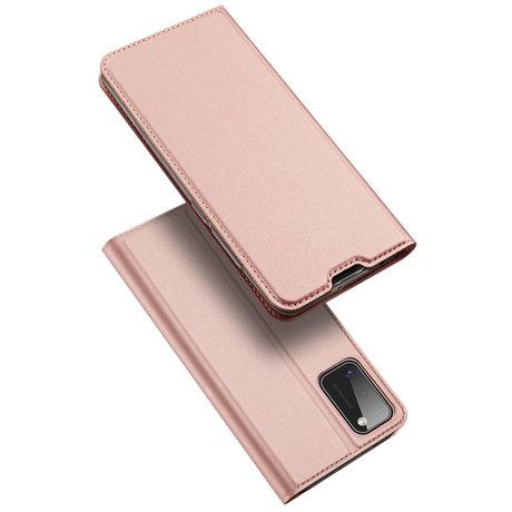 Dux Ducis Slim Softcase Booktype Samsung Galaxy A41 - Rosé Goud (D)