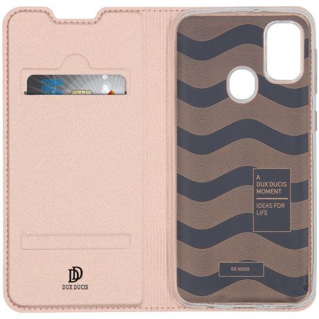 Dux Ducis Slim Softcase Booktype Samsung Galaxy M30s / M21 - Rosé Goud (D)