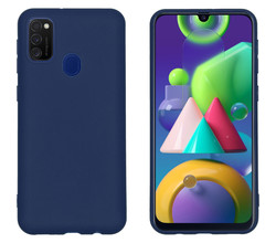 iMoshion iMoshion Color Backcover Samsung Galaxy M30s / M21 - Donkerblauw (D)
