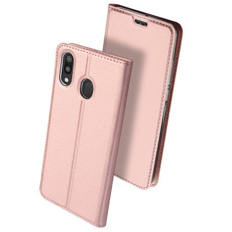 Dux Ducis Slim Softcase Booktype Samsung Galaxy M20 Power - Rosé Goud (D)