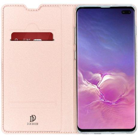 Dux Ducis Slim Softcase Booktype Samsung Galaxy S10 Plus (D)