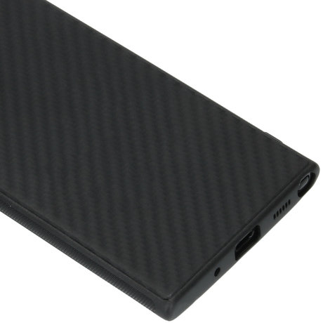 Carbon Softcase Backcover Samsung Galaxy Note 20 Ultra (D)