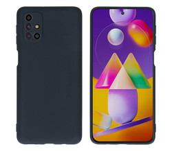 iMoshion iMoshion Color Backcover Samsung Galaxy M31s - Zwart (D)
