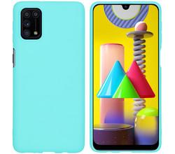 iMoshion iMoshion Color Backcover Samsung Galaxy M31s - Mintgroen (D)