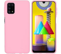 iMoshion iMoshion Color Backcover Samsung Galaxy M31s - Roze (D)