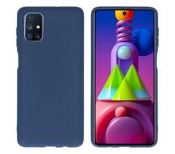 iMoshion iMoshion Color Backcover Samsung Galaxy M51 - Donkerblauw (D)