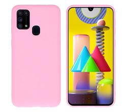 iMoshion iMoshion Color Backcover Samsung Galaxy M31 - Roze (D)