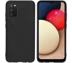 iMoshion iMoshion Color Backcover Samsung Galaxy A02s - Zwart (D)